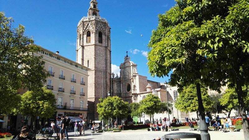 Valencia, katedrála