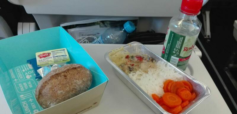 Thajsko, Občerstvení na palubě