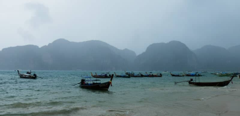 Thajsko v období dešťů